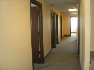 Suite 510 (5725sf) 17 offices, reception & wait room, copy room, break room. A showing is a must to evaluate the entire space on the 5th floor.